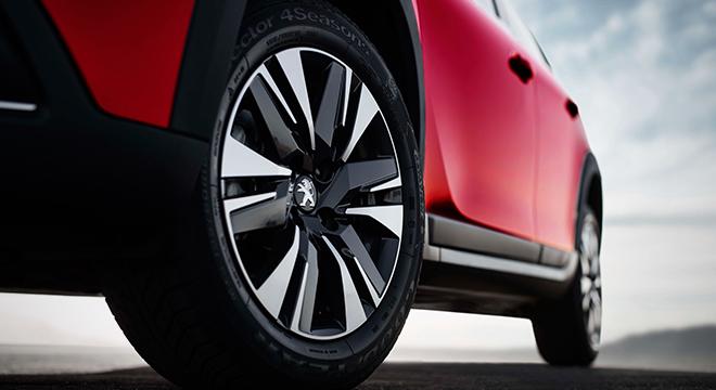 Peugeot 2008 2018 wheels
