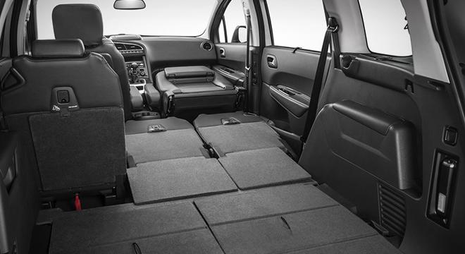 Peugeot 5008 2018 trunk