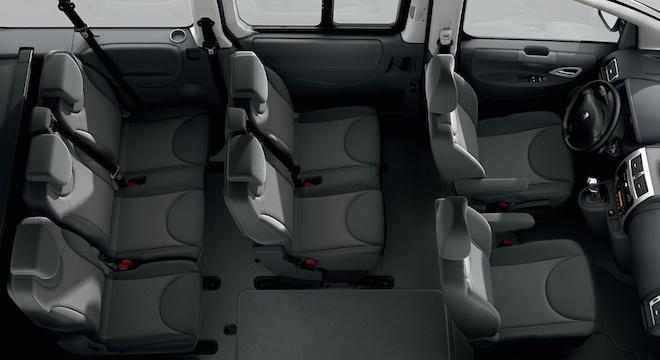 Peugeot Expert Tepee 2018 passenger seats