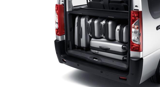 Peugeot Expert Tepee 2018 trunk