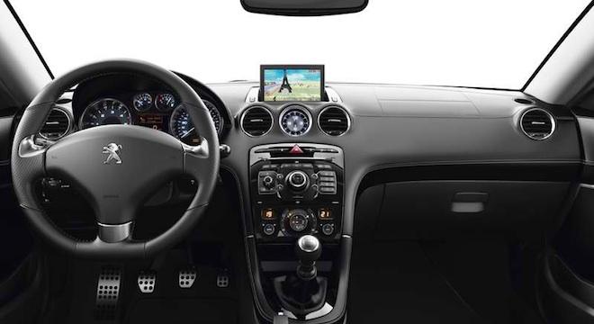 Peugeot RCZ 2018 interior