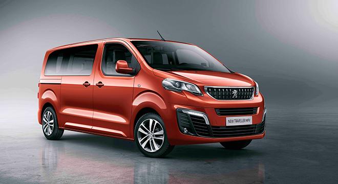 Peugeot Traveller 2018 front