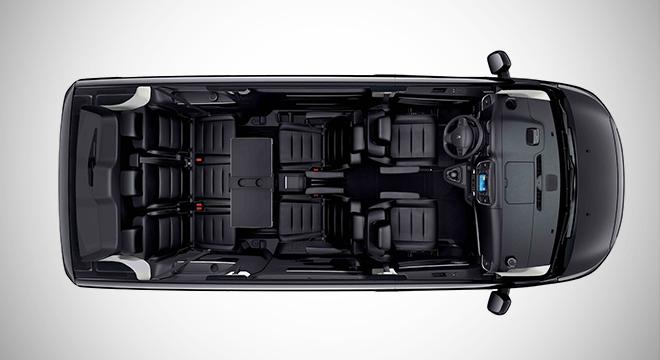 Peugeot Traveller 2018 interior