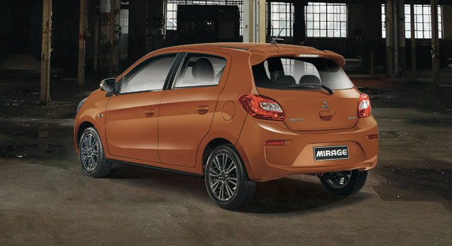 Mitsubishi New Mirage