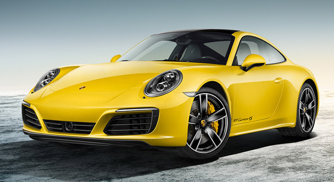 Porsche 911 Carrera 2018 side