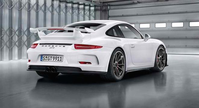 Porsche 911 GT3 2018 rear
