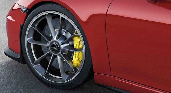 Porsche 911 GT3 2018 wheels