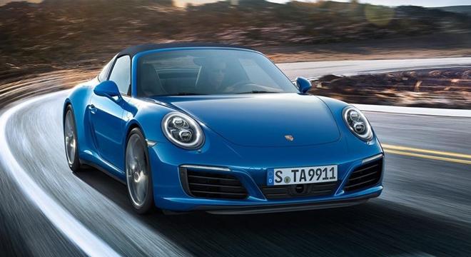 Porsche 911 Targa 4 2018