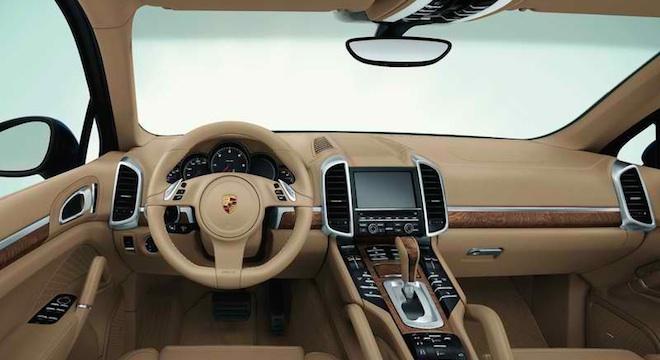 Porsche Cayenne 2018 interior