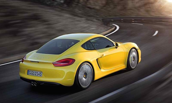 Porsche Cayman 2018