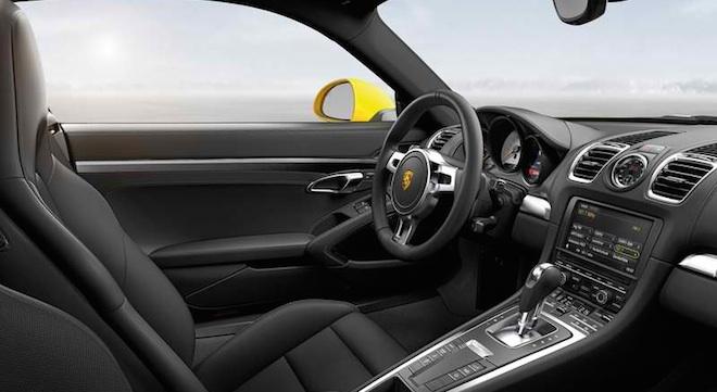 Porsche Cayman 2018 interior