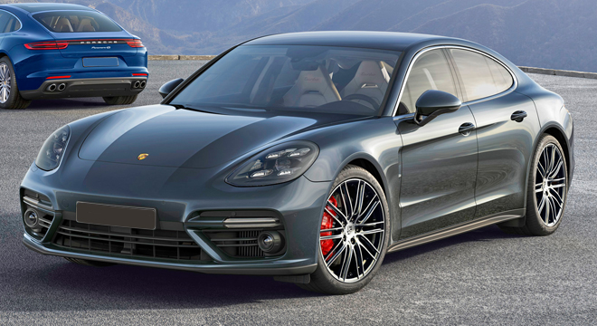 Porsche Panamera 2018 side