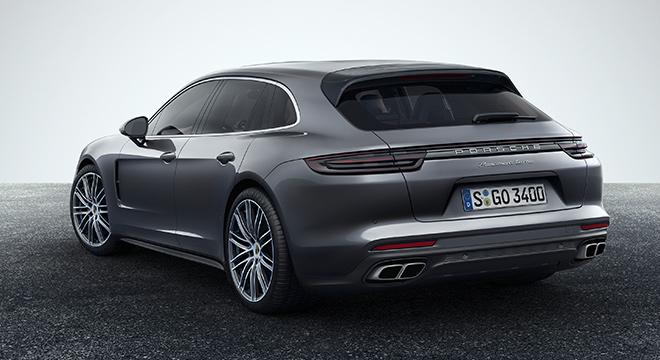 Porsche Panamera Sport Turismo 2018 rear