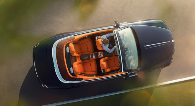 Rolls-Royce Dawn 2018 Philippines convertible