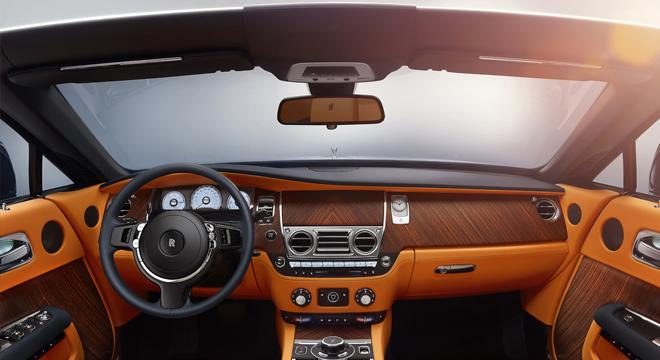 Rolls-Royce Dawn 2018 Philippines interior