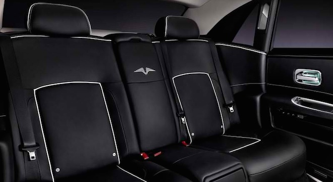Rolls-Royce Ghost 2018 Philippines seats interior