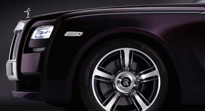 Rolls-Royce Ghost 2018 Philippines wheels