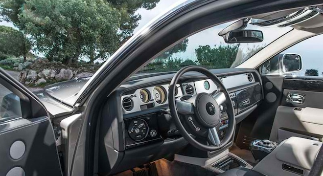 Rolls-Royce Phantom 2018 Philippines interior