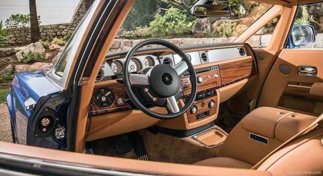 Rolls-Royce Phantom Coupe 2018 Philippines interior