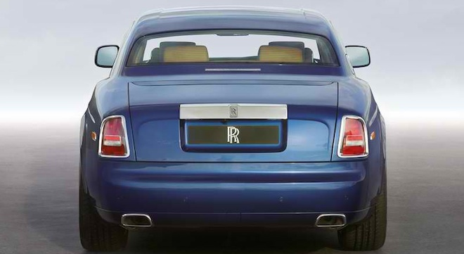 Rolls-Royce Phantom Coupe 2018 Philippines rear