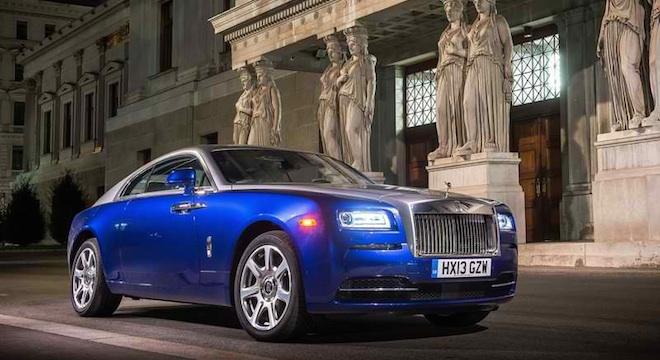 Rolls-Royce Wraith 2018 Philippines blue
