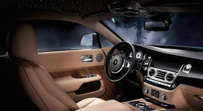 Rolls-Royce Wraith 2018 Philippines interior