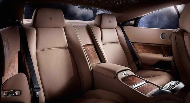 Rolls-Royce Wraith 2018 Philippines seats