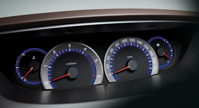 Ssangyong Rodius Gauge Cluster