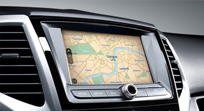 Ssangyong Tivoli Head Unit Navigation