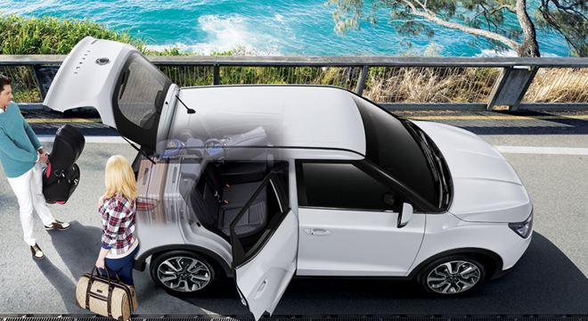 Ssangyong Tivoli Side Open Doors