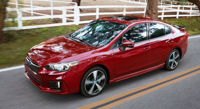 Subaru Impreza Exterior Side