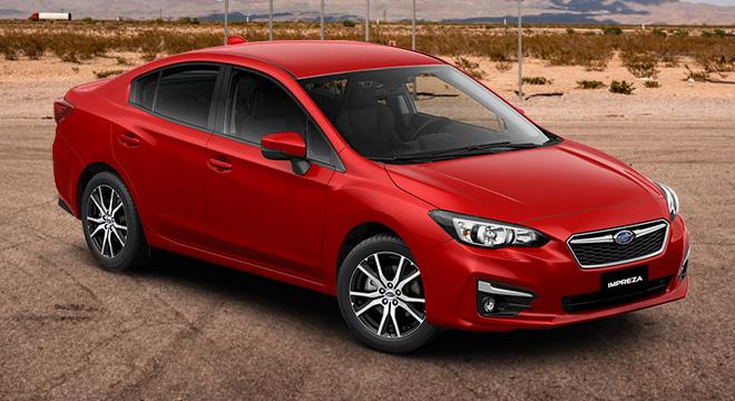 Subaru Impreza Exterior Side Subaru Impreza Front ...