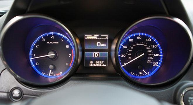 Subaru Legacy Gauge Cluster