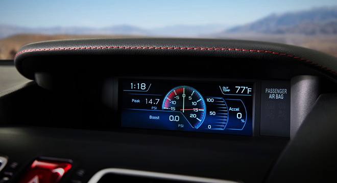 Subaru WRX STI LCD Screen