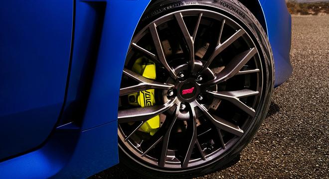 Subaru WRX STI Wheels