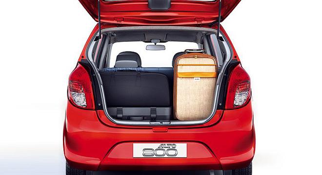 Suzuki Alto 2018 trunk