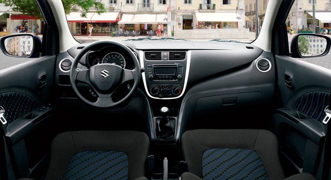 Suzuki Celerio 2018 dashboard