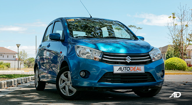 suzuki celerio road test exterior beauty shots philippines