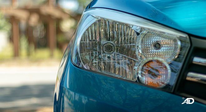 suzuki celerio road test exterior headlights