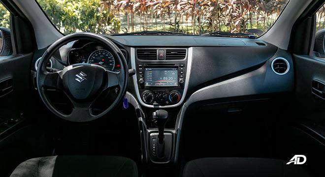 suzuki celerio road test interior dashboard philippines