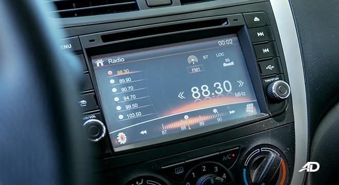 suzuki celerio road test interior touchscreen infotainment