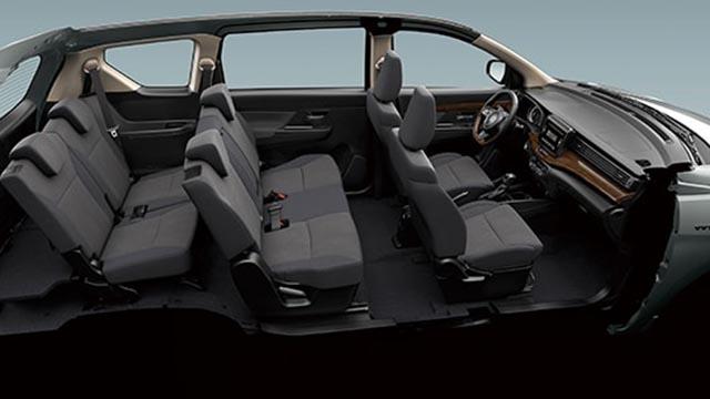 Suzuki Ertiga Philippines side interior
