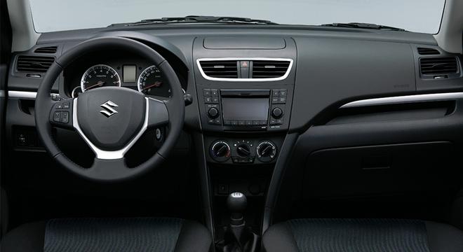 Suzuki Swift 2018 dashboard