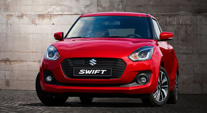 Suzuki Swift 2018 fascia