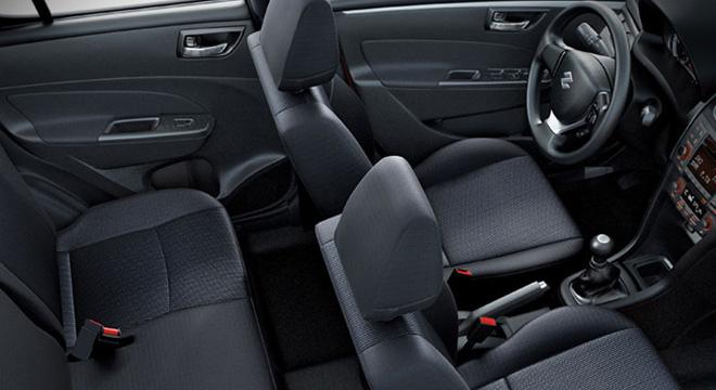 Suzuki Swift 2018 interior