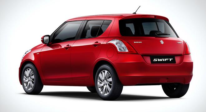 Suzuki Swift 2018 rear