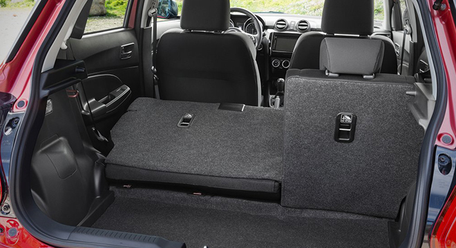 Suzuki Swift 2018 rear seats