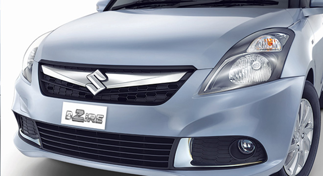 Suzuki Swift Dzire 2018 front