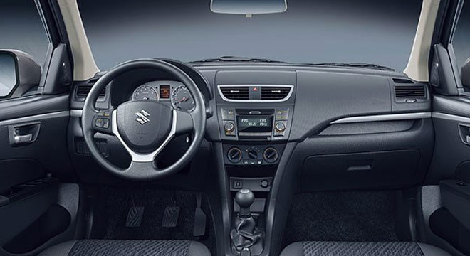 Suzuki Swift Dzire 2018 interior