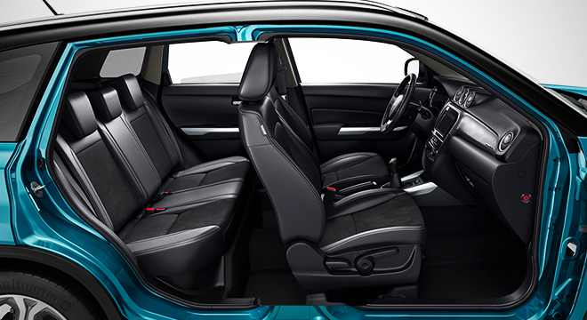 Suzuki Vitara 2018 seats